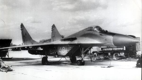 МіГ-29 (9-12) зі складу 92 авіаполку 23 серпня 1993 року