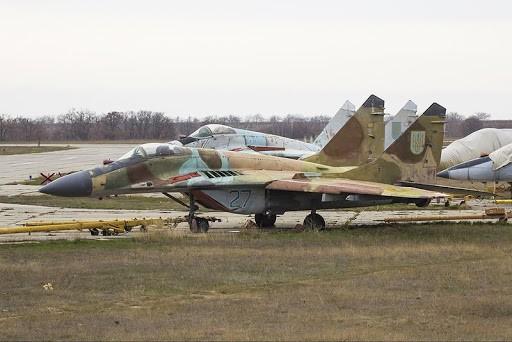 МіГ-29 на зберіганні у Бельбеку