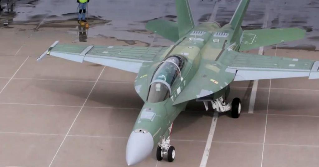 F/A-18 Block III Super Hornet. Boeing