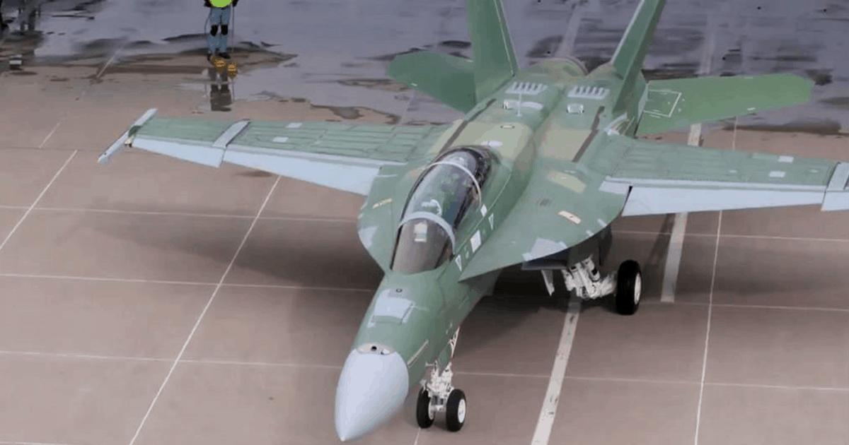F/A-18 Block III Super Hornet. Boeing.