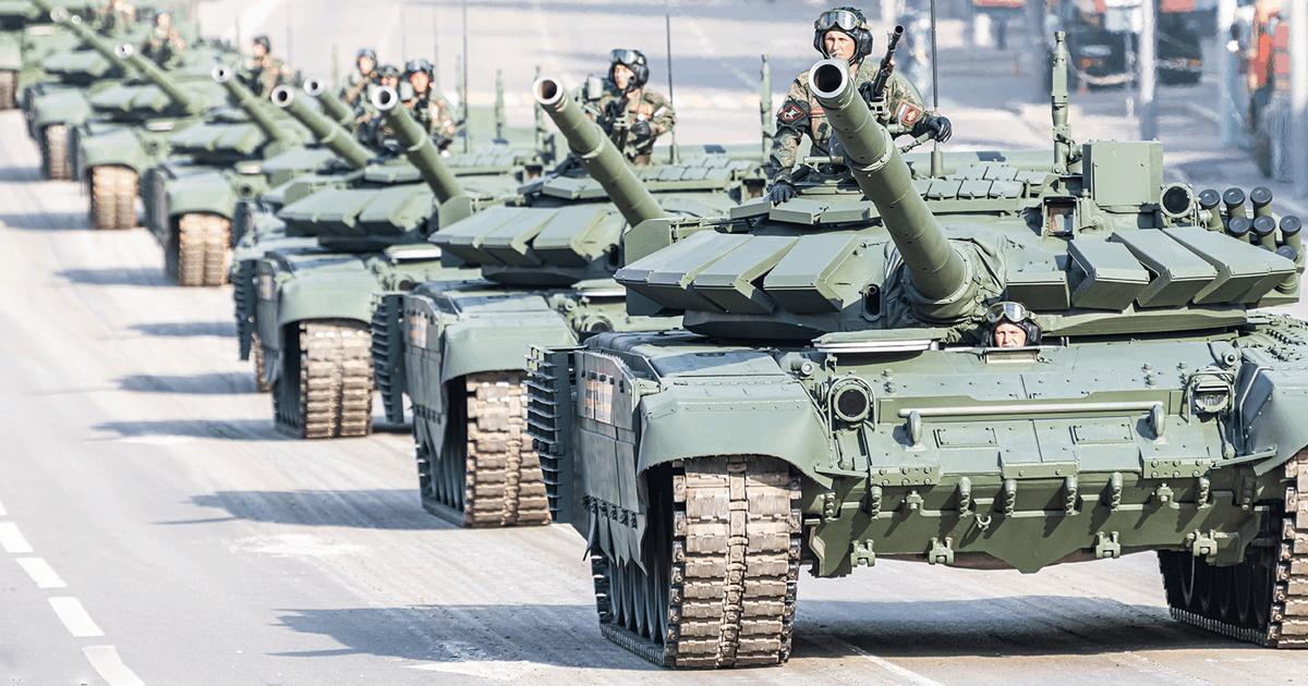Танки Т-72Б3 (червень 2020). Фото: ЗМІ РФ