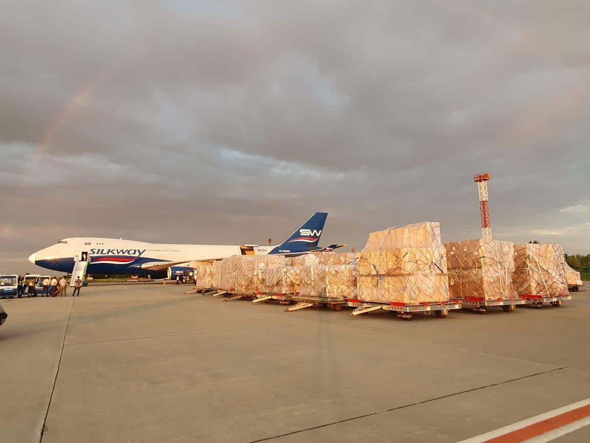 Обладнання від США прибуле в Україну 16 червня 2020 року