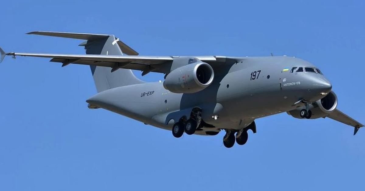 Політ літака Ан-178 Фото: ДП «Антонов»