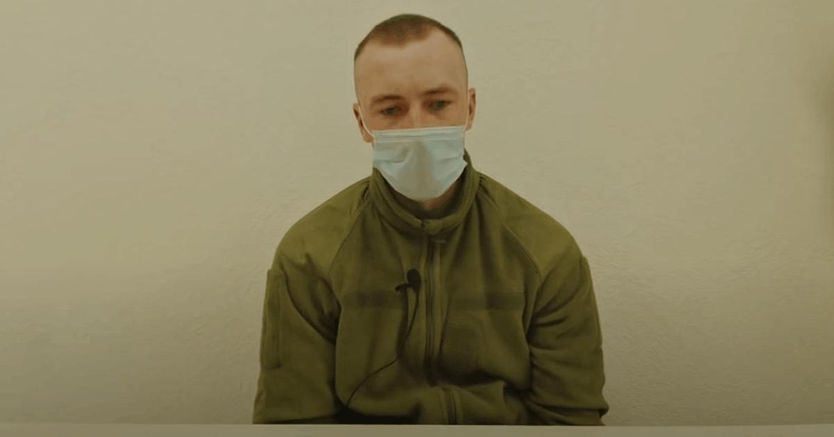 Військовий 95-ї бригади ДШВ Євген Добринський на допиті у ФСБ