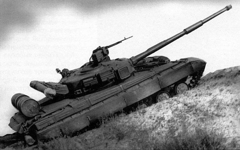Об'єкт 476 «Кедр» на випробуваннях