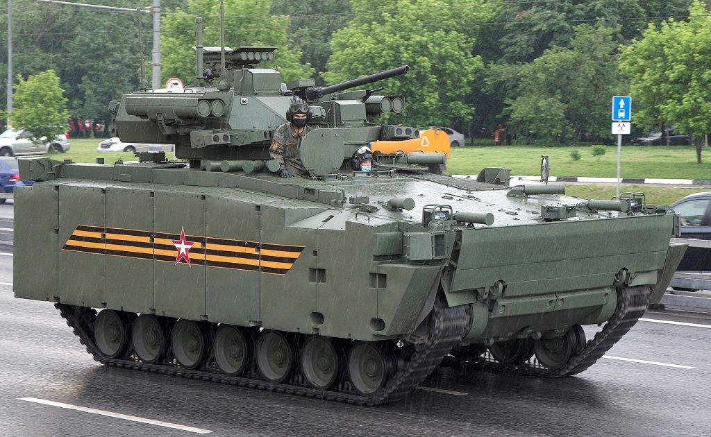 """Б-11 на базі """"Курганец-25 (червень 2020). Фото: ЗМІ РФ"""