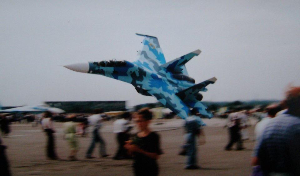 Падіння Су-27 у Скнилові