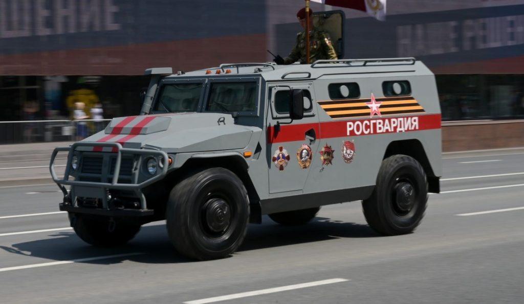 """СБМ ВПК-233136 """"Тигр-М"""" (червень 2020). Фото: ЗМІ РФ"""