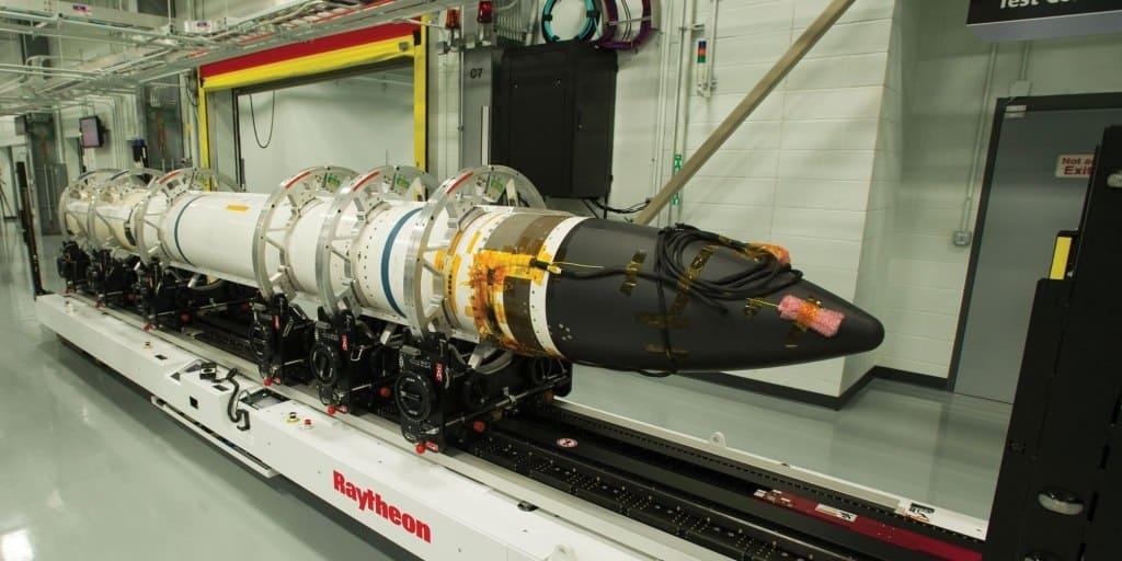 Ракета SM-3 Block IIA компанії Raytheon. Фото з відкритих джерел