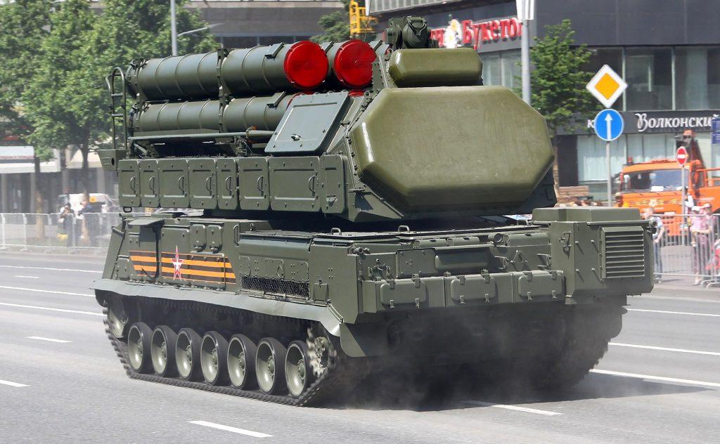 Самохідна вогнева установка 9А317М ЗРК 9K317M Бук-M3 (червень 2020). Фото: ЗМІ РФ