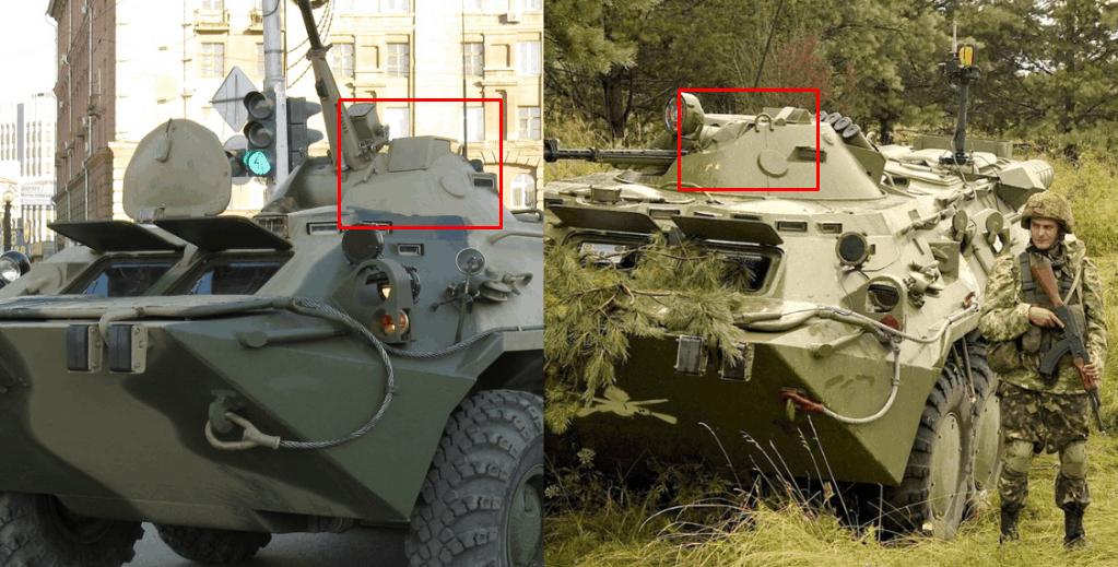 Після модифікації БТР-80 (Росія) та до модифікації БТР-80 (Україна)