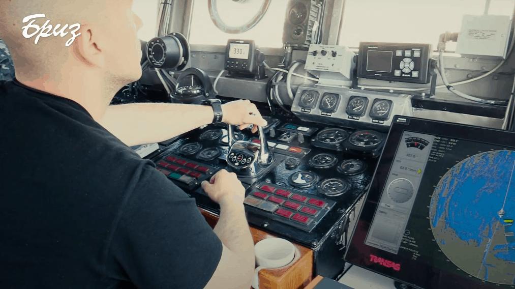 Патрульними катер «Старобільськ» (Р191). Фото ВМС України