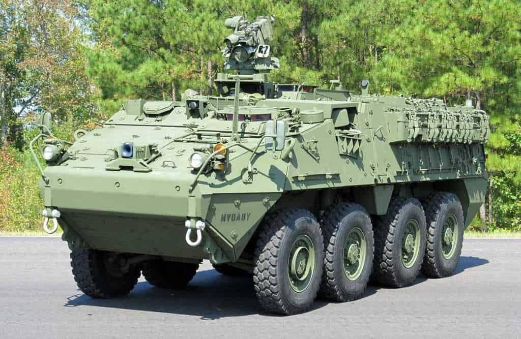 Stryker Double V-Hull. Фото з відкритих джерел