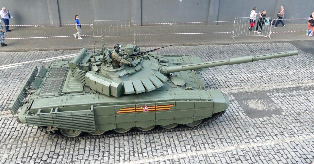 Танк Т-72Б3М (червень 2020). Фото: ЗМІ РФ