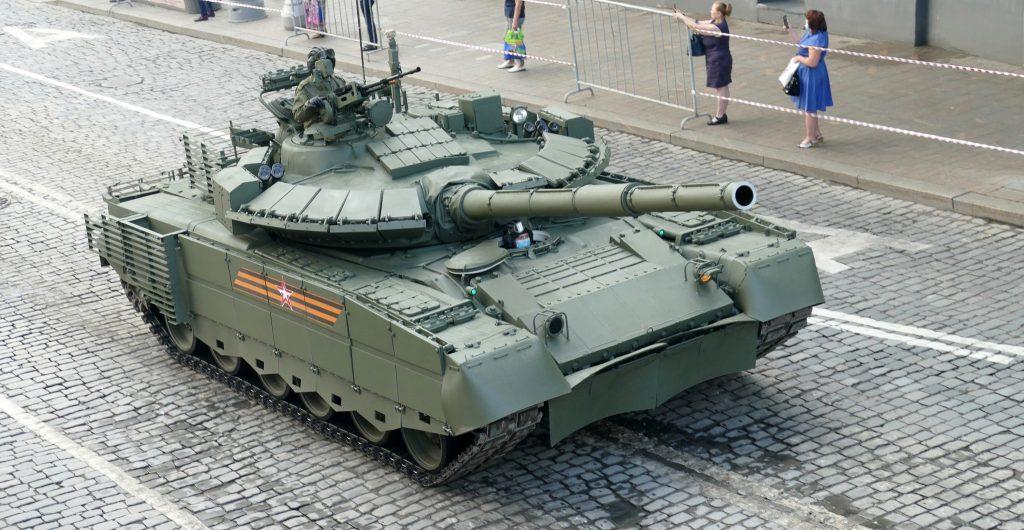 Танк Т-80БВМ (червень 2020). Фото: ЗМІ РФ
