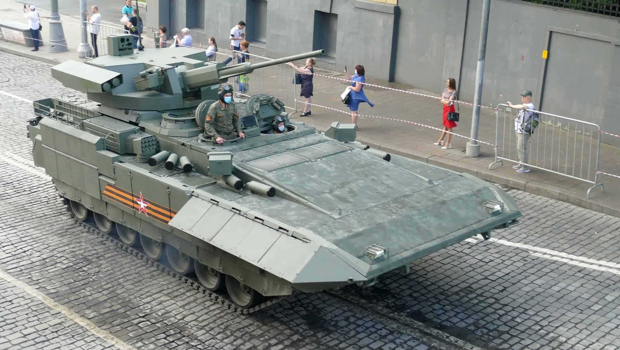 Т-15 (червень 2020). Фото: ЗМІ РФ