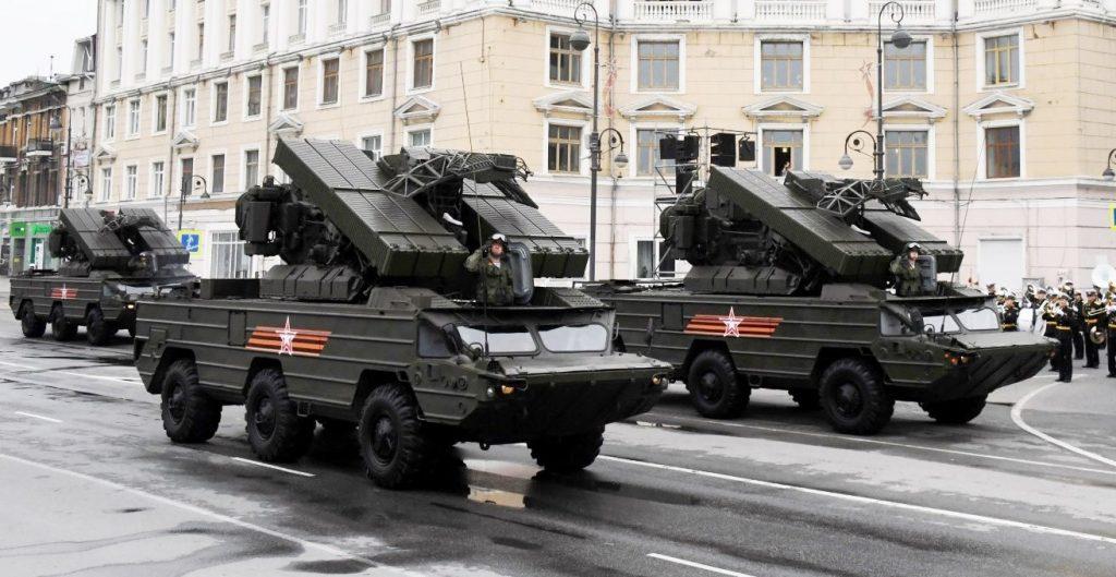 ЗРК 9К33 «Оса» (червень 2020). Фото: ЗМІ РФ