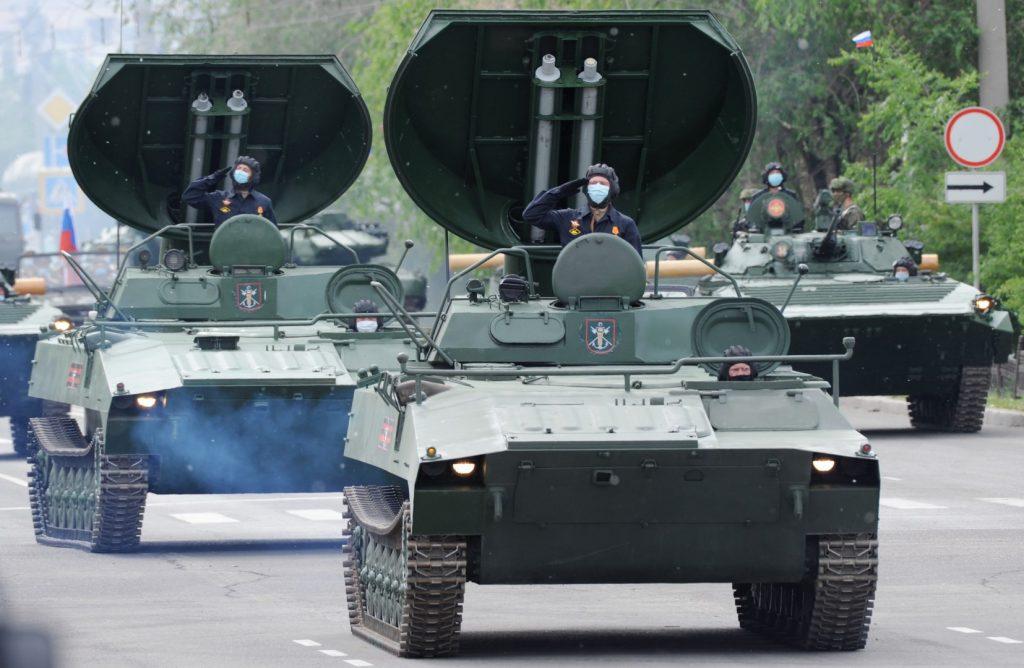 УР-77 (червень 2020). Фото: ЗМІ РФ