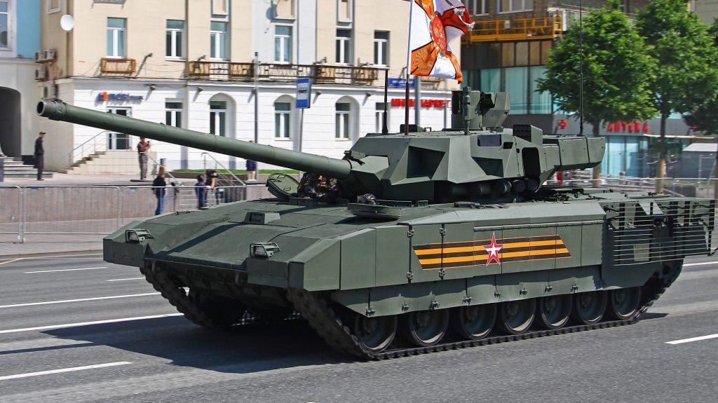 Танк Т-14 (червень 2020). Фото: ЗМІ РФ