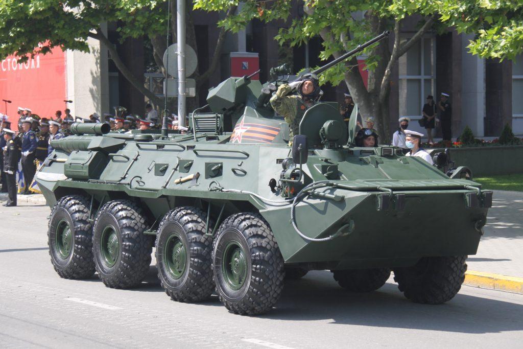 БТР-82АМ (червень 2020). Фото: ЗМІ РФ