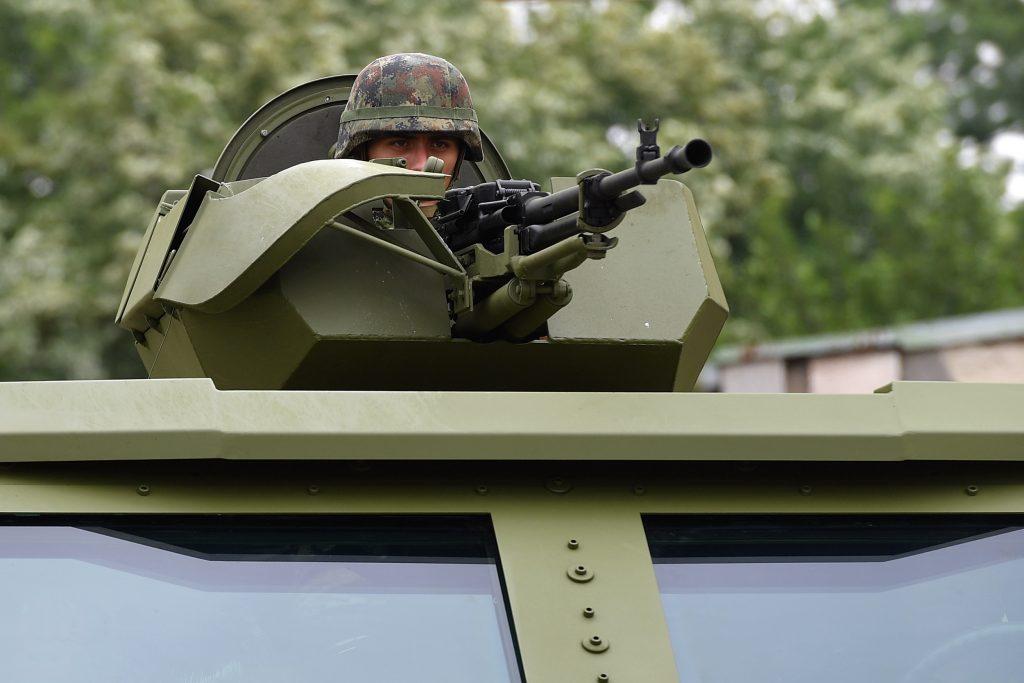 Бронемашина Сербії M-20. Фото: Міноборони Сербії
