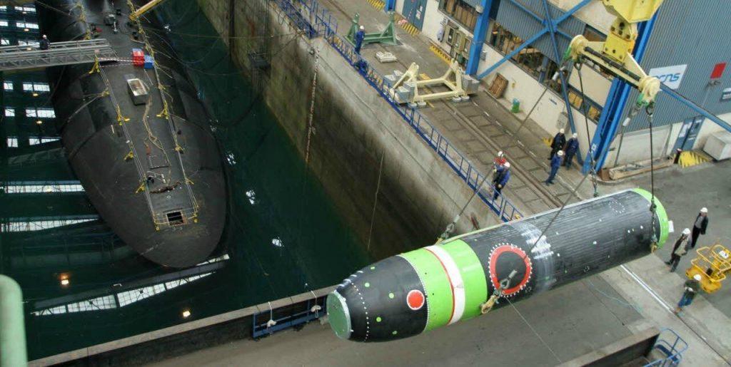 Балістична ракета Франції M51. Фото ЗМІ Франції