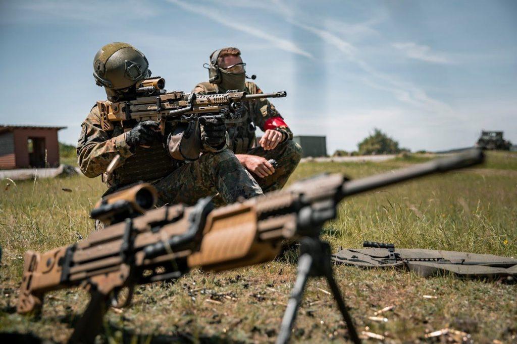 Випробування кулемета MG4 A3. Фото: Бундесвер