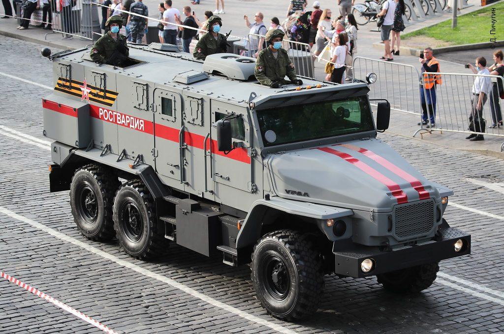 """Урал-432009 """"Урал-ВВ"""" (червень 2020). Фото: ЗМІ РФ"""