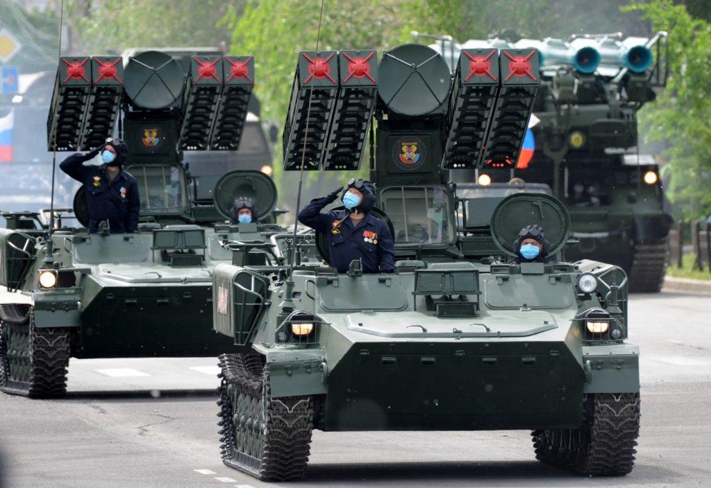 """ЗРК 9К35 """"Стріла-10 (червень 2020). Фото: ЗМІ РФ"""
