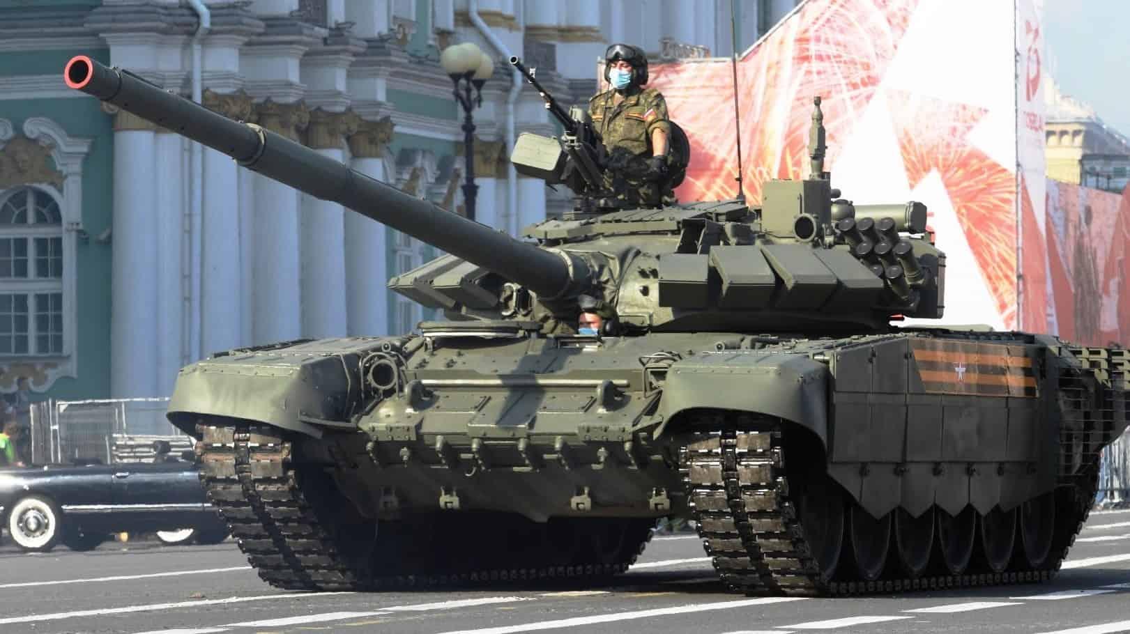 Танк Т-72Б3 (червень 2020). Фото: ЗМІ РФ