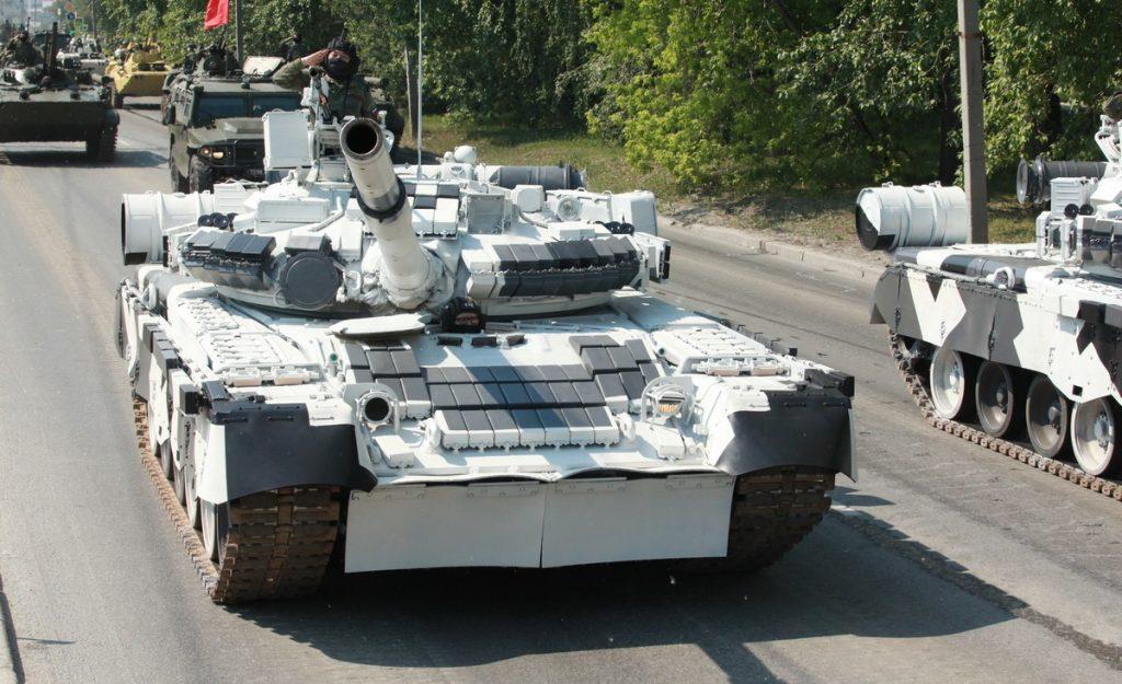 Танк Т-80БВ (червень 2020). Фото: ЗМІ РФ
