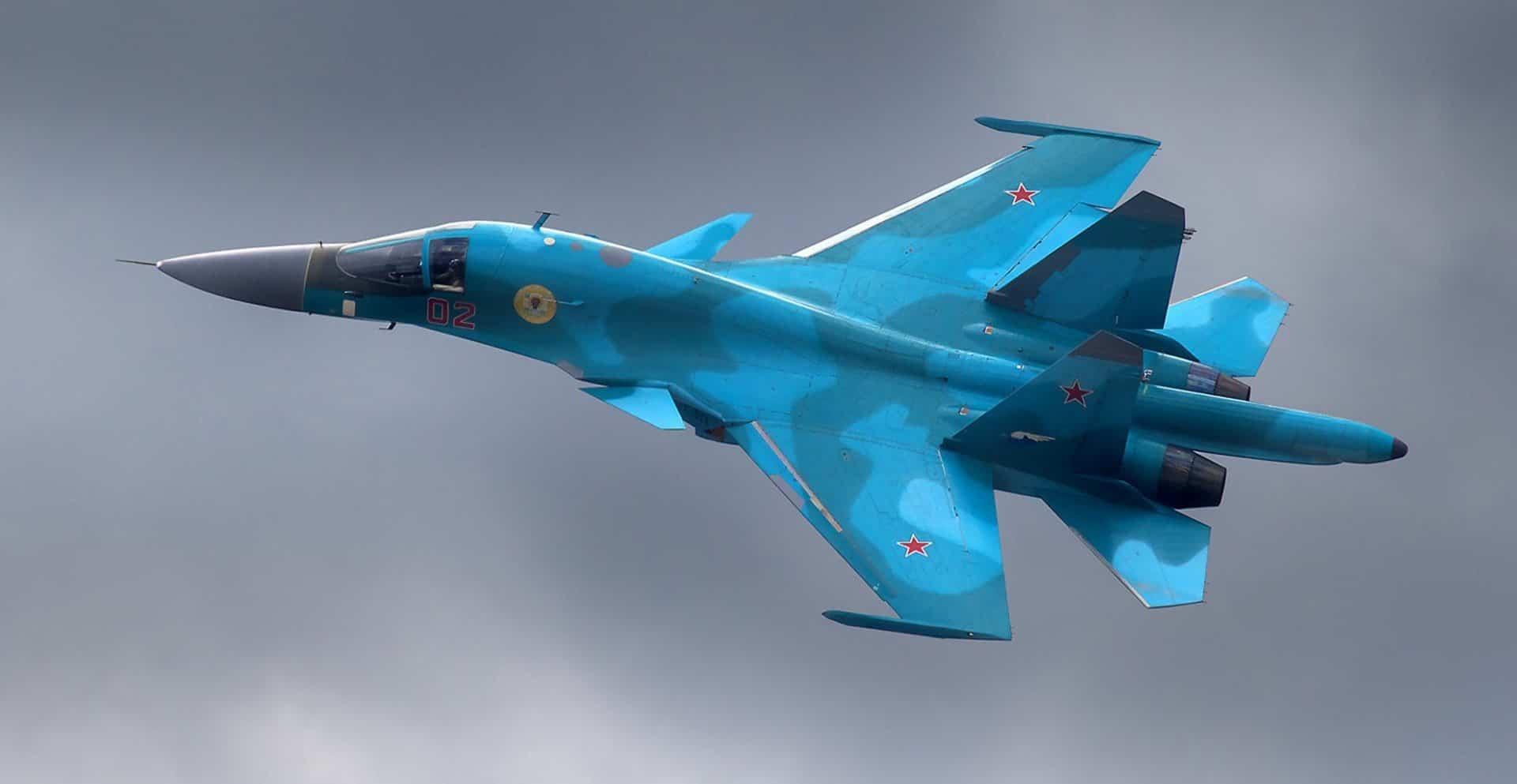 Фронтовий бомбардувальник СУ-34. Фото з відкритих джерел