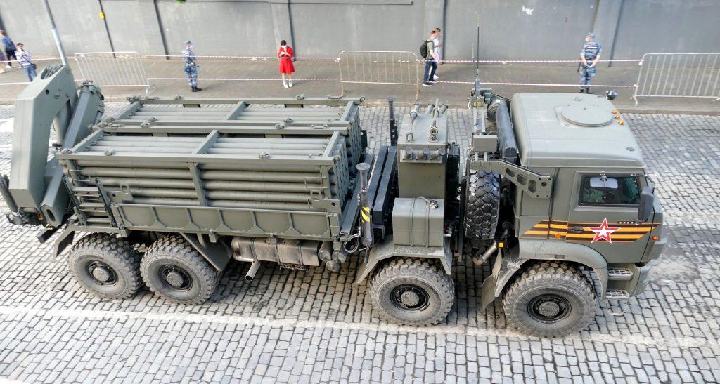Транспортно-заряджаюча машина ІСДМ (червень 2020). Фото: ЗМІ РФ