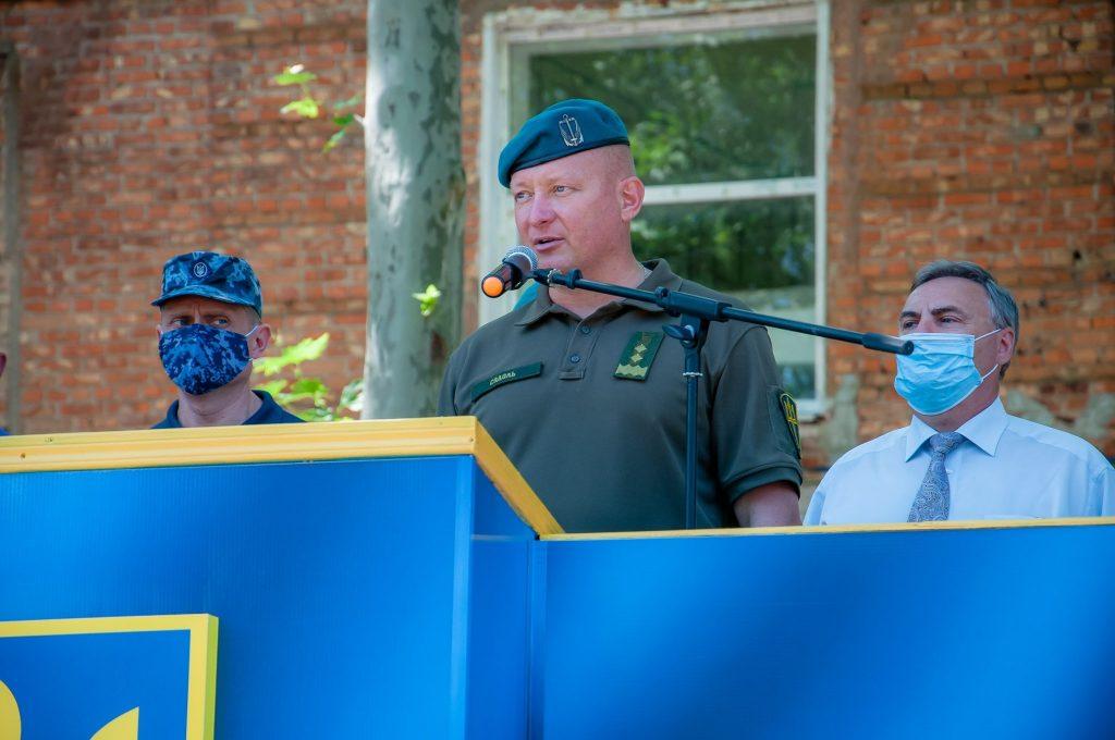 Командувач морської піхоти генерал-лейтенант Юрій Содоль. Фото: ВМС України