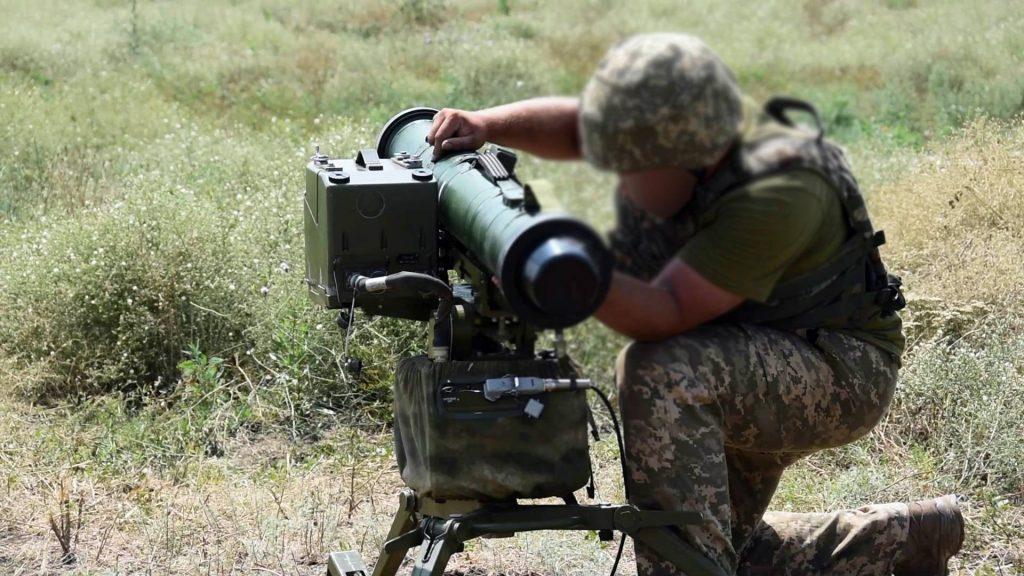 Підготовка «Стугна-П» під час змагань. Фото: АрміяInform