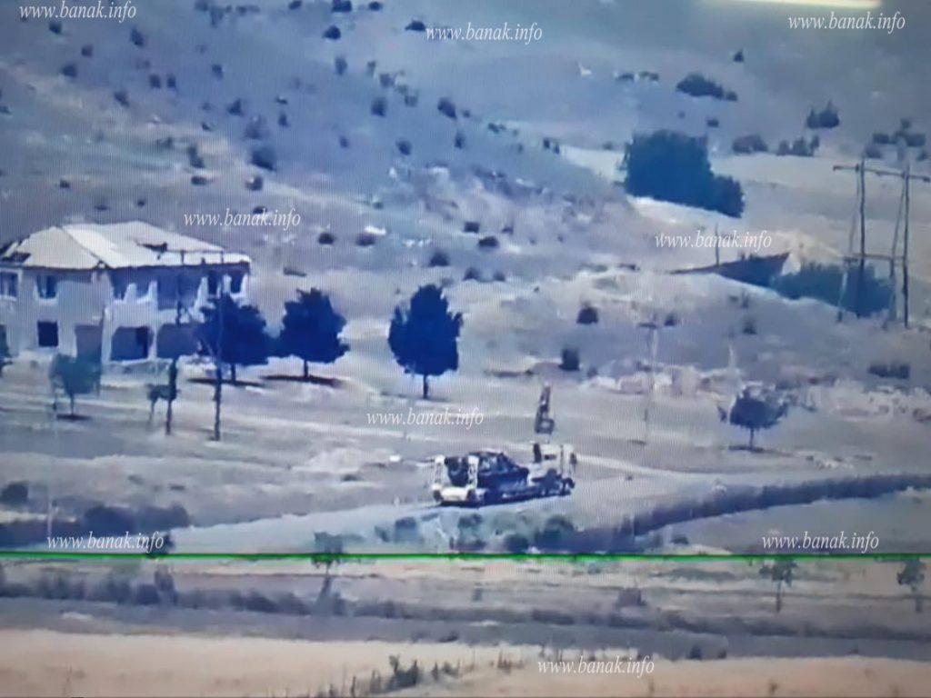 Знімки від вірменського боку нібито підбитих танків Азербайджану