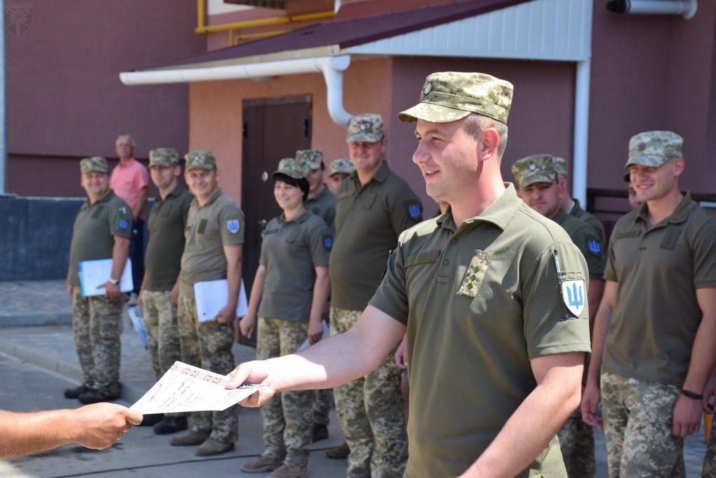 Житло для військових. Фото: 128 ОГШБр