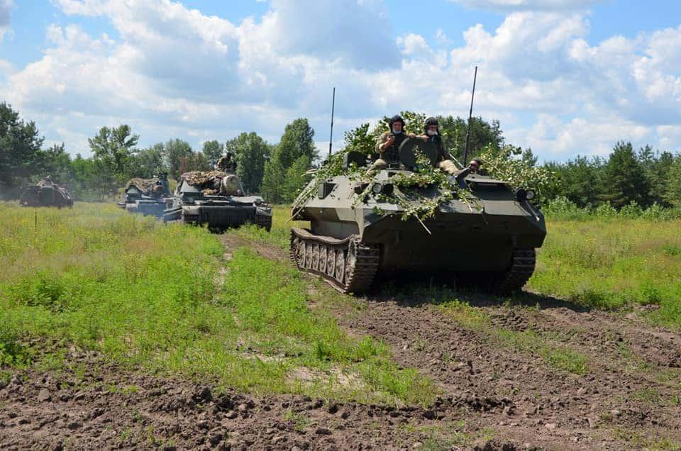 Навчання артилеристів. Липень 2020. Фото: 92 ОМБр