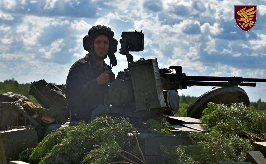 Навчання 95-ї бригади ДШВ. Липень 2020. Фото: ДШВ