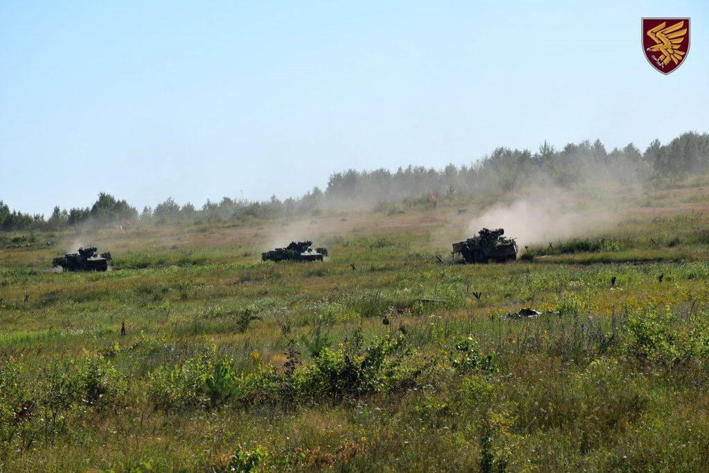 Бронетехніка 95-ї бригади ДШВ. Липень 2020. Фото: ДШВ