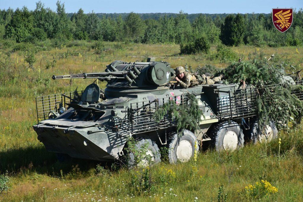 БТР-3 на навчаннях 95-ї бригади ДШВ. Липень 2020. Фото: ДШВ