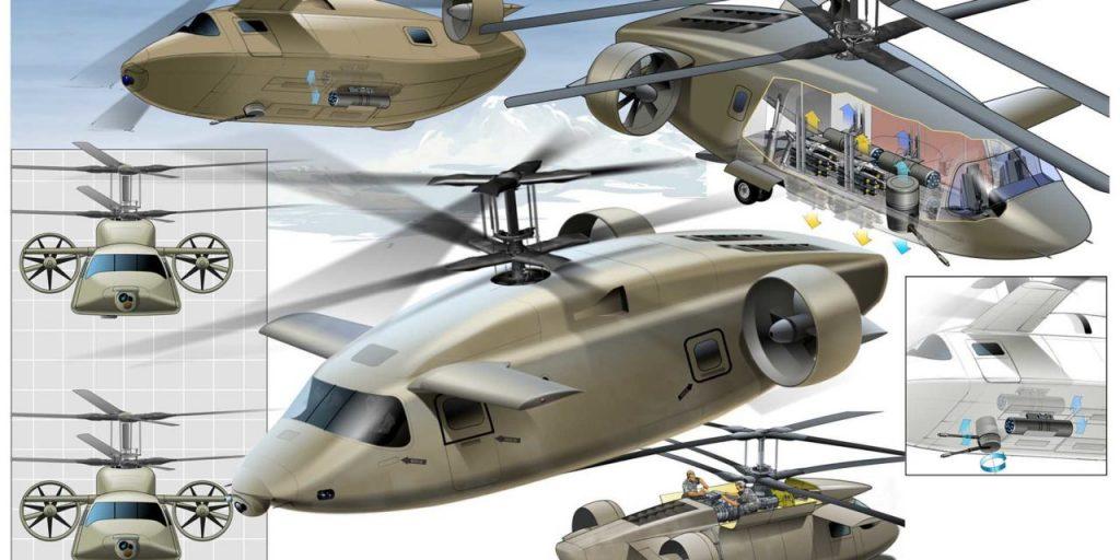 Проєкт швидкісного багатоцільового вертольота від компанії «AVX Aircraft»