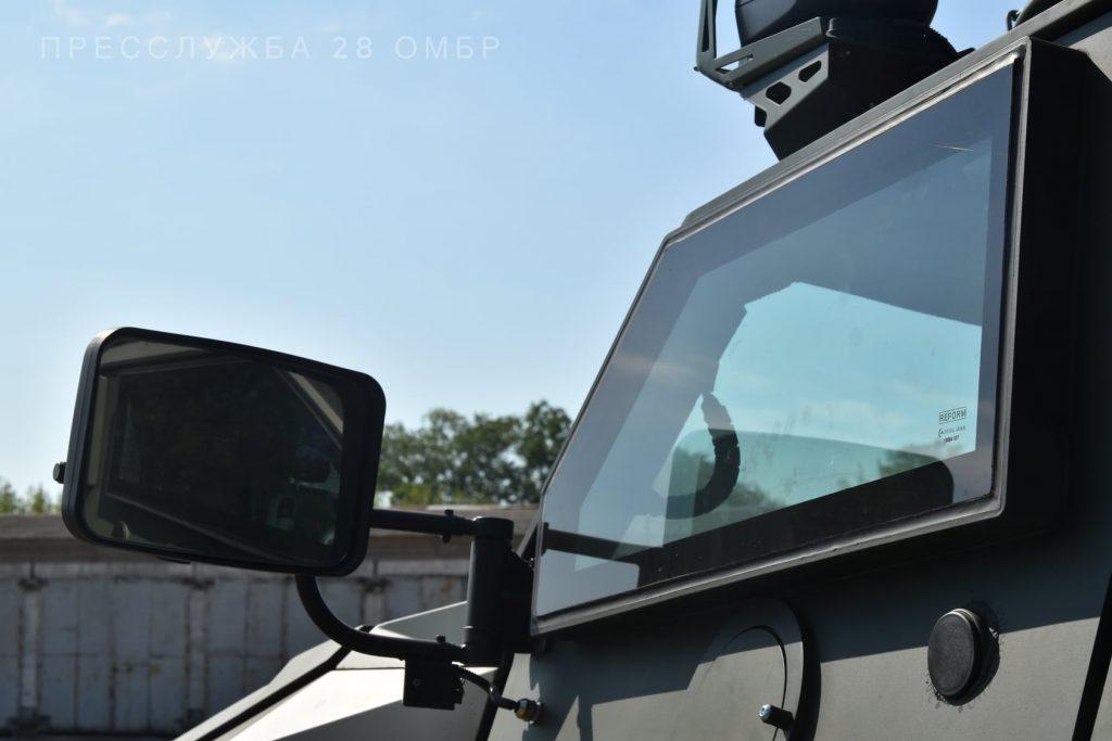 """Бронеавтомобіль """"Новатор"""". Липень 2020. Фото: 28 ОМБр"""
