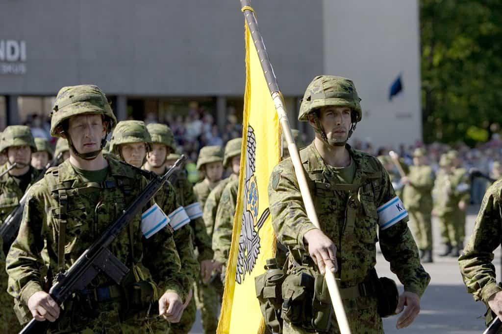 Кайтселійт (добровольчі воєнізовані формування в Естонії). Фото з відкритих джерел