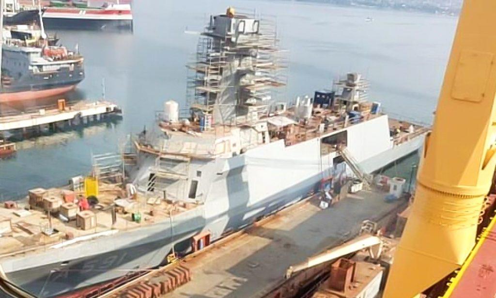 Корабель «Ufuk» (A591). Фото: ЗМІ Туреччини