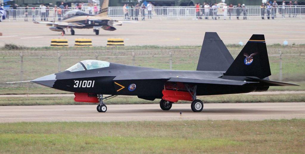 Винищувача FC-31 ВПС Китаю
