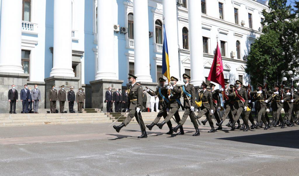 Церемонії офіційної зустрічі. Фото: Міноборони України