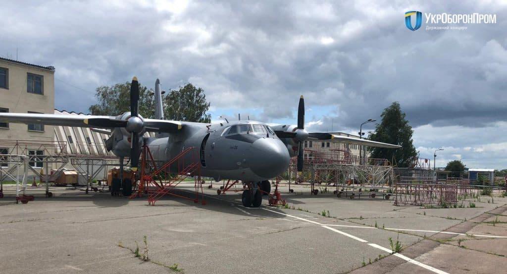 Відремонтований літак АН-26. Фото: Укроборонпром