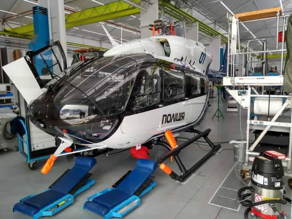 Airbus H-145 Національної поліції України