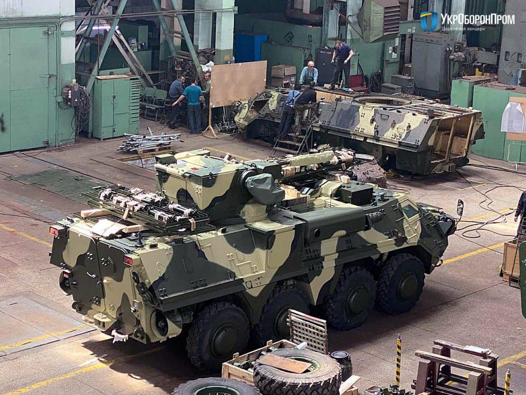 Бронетранспортери БТР-4Е. Фото: «Укроборонпром»